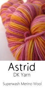 Hand-dyed Superwash Merino DK Sock yarn