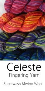 Hand-dyed Superwash Merino Fingering weight Sock yarn