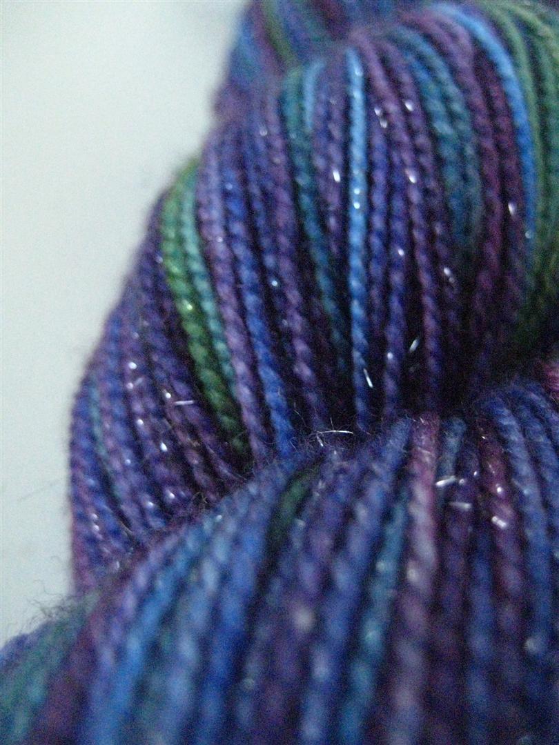 yarn, fingering, merino, superwash, wool, sparkles