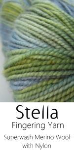 Hand-dyed Superwash Merino and Nylon Fingering weight Sock yarn