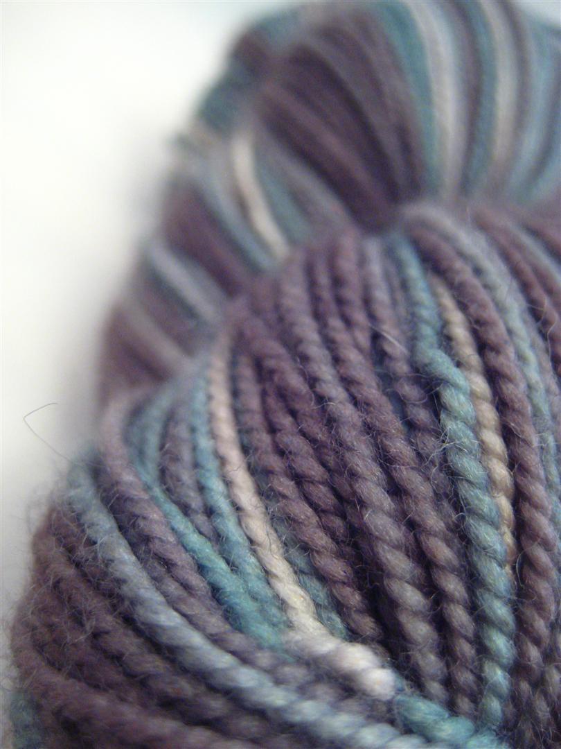 sock yarn, hand-dyed, hand dyed, knitting, yarn