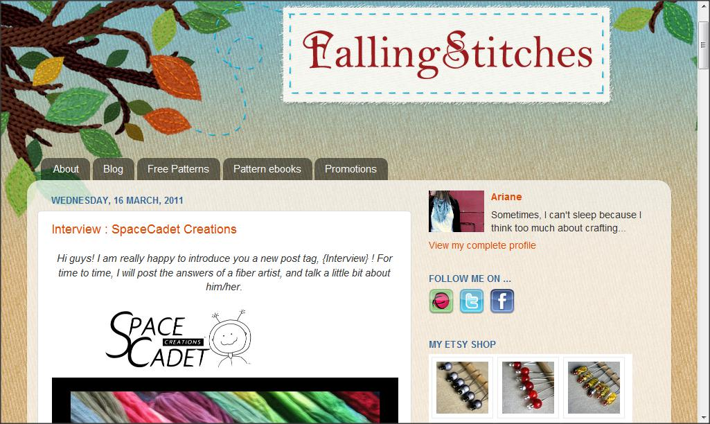 falling stitches, knitting, yarn, dyer, knit design