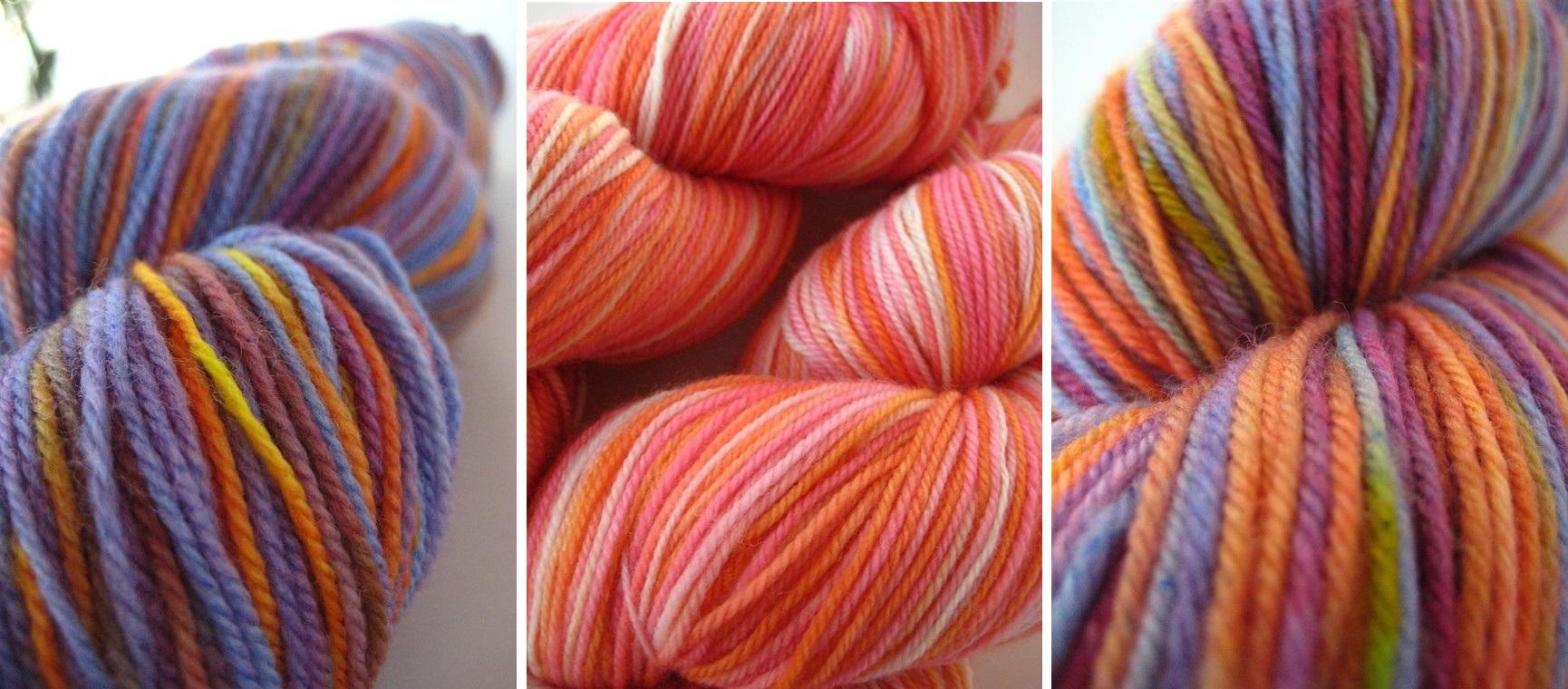 yarn, sock yarn, knitting, crochet, hand-dyed, handdyed