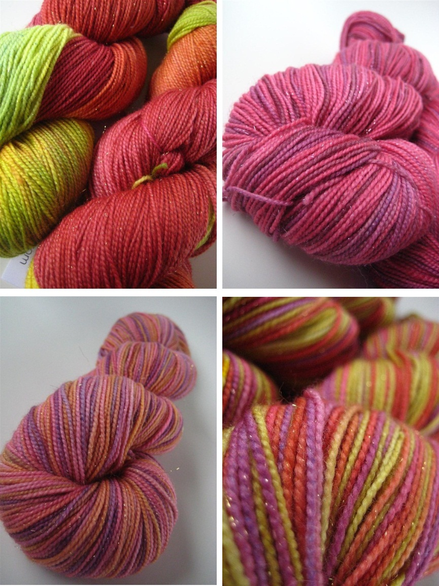 yarn, hand-dyed, sock yarn