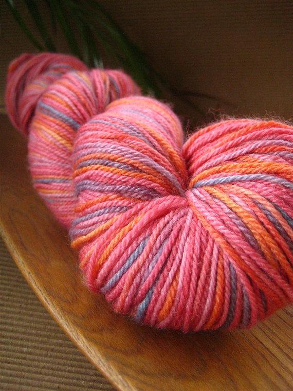 hand-dyed yarn, yarn, knitting, crochet, indie dyer