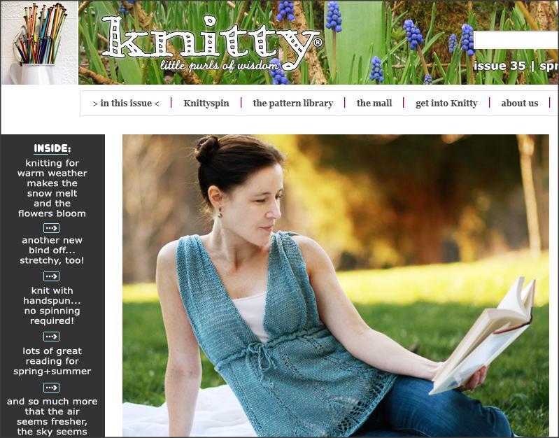 knitty, knitting magazine, knitting patterns, knitting