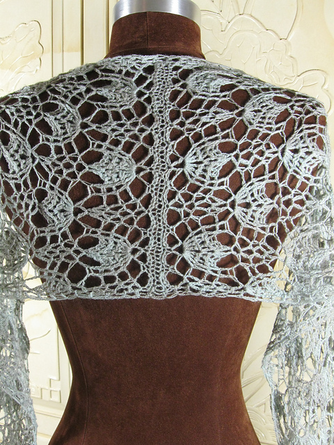 Moonmist Shawl by Sharon Silverman, crochet, space cadet, spacecadet, yarn