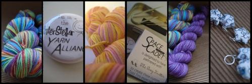 yarn club, yarn, knitting, crochet, sock yarn, indie dyer, hand dyed, space cadet, spacecadet