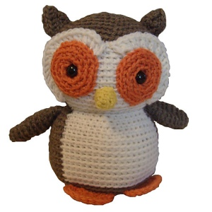 Fresh Stitches Nelson the Owl by crochet designer Stacey Trock