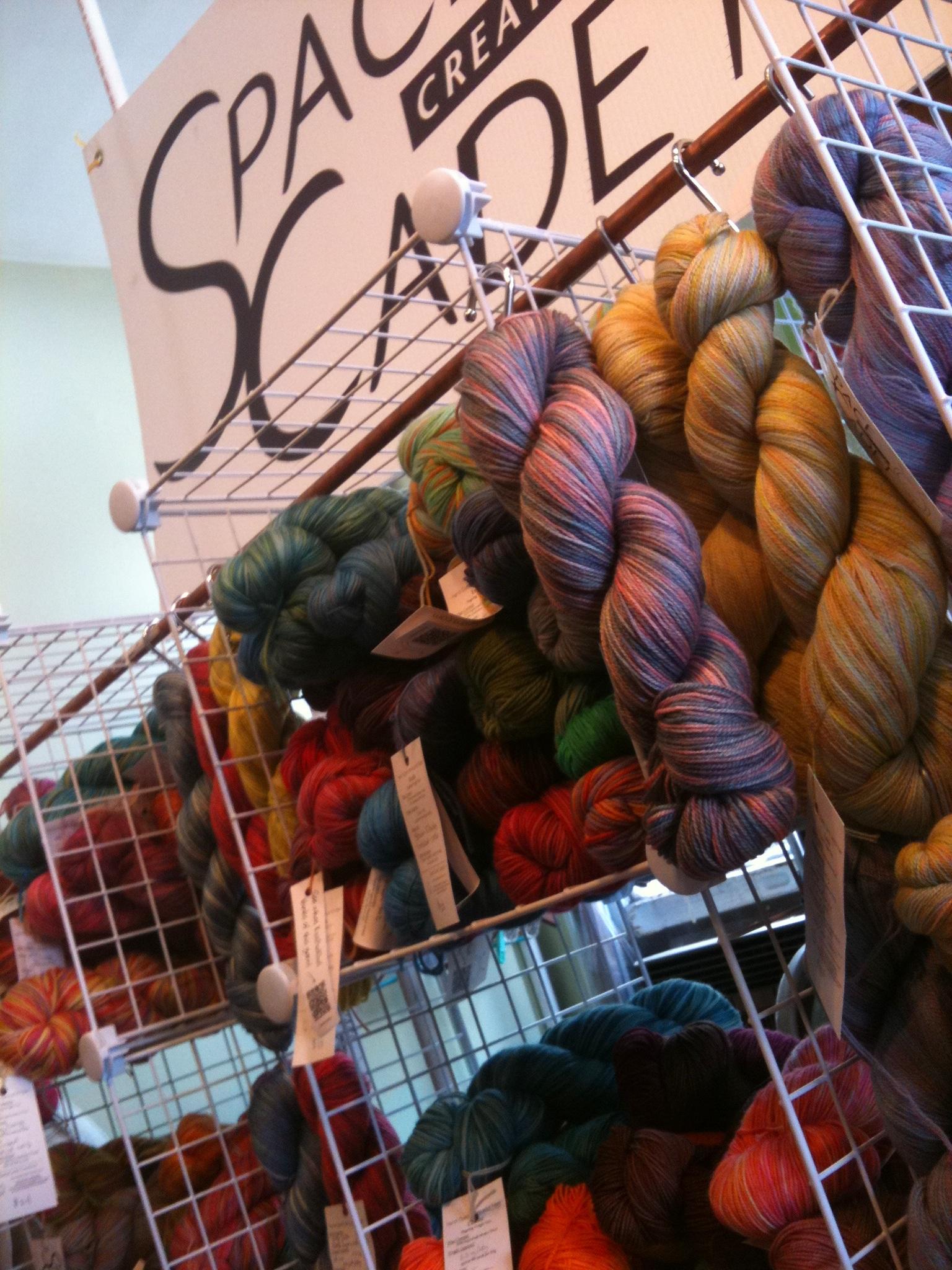 Yarns at the PLY Party, knitting, crochet, sock yarns, yarn, space cadet, spacecadet, lovelyarns