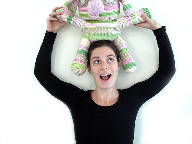Fresh Stitches Amigurumi crochet designer Stacey Trock on SpaceCadet Creations yarn and knitting blog