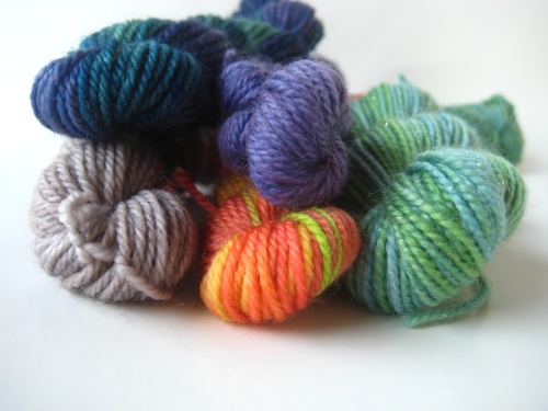 The SpaceCadet's Mini-Skein Club for Knitters and Crocheters